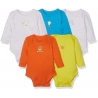 Mothercare - Set Body cu maneca lunga Dynos, 5 buc