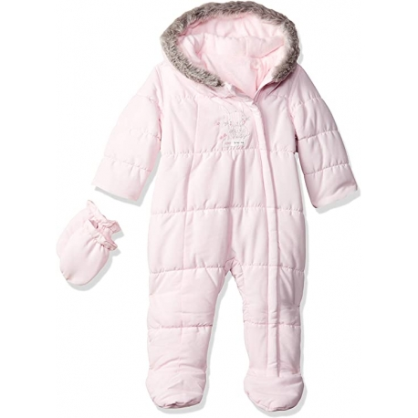 Mothercare - Combinezon Iarna My Little Bunny Pink