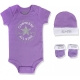 Converse - Set 3 piese All Star Infant Gift, Purple