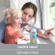 NUK - Cana cu cioc tare Kiddy Cup 300ml, 12 luni+, Veverita