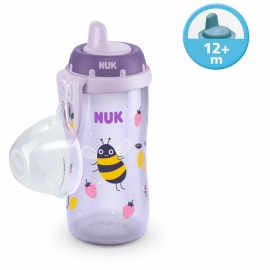 NUK - Cana Kiddy Cup 300ml, 12 luni+, Bees