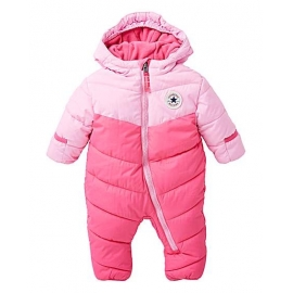 Converse - Combinezon All Star Infant Snowsuit Duo Pink