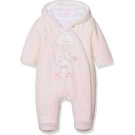 Mothercare - Salopeta bebelusi polar captusit, My First - Little Mouse, Roz