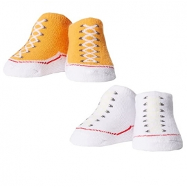Converse - All Star Infant Booties, 0-6 luni, Orange