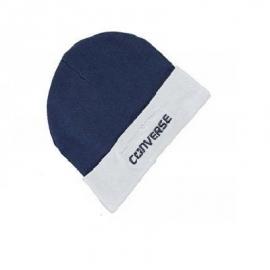 Resigilat Converse - Caciulita din Set 2 piese Hat&Booties All Star, 0-6 luni, Gri/Bleumarin