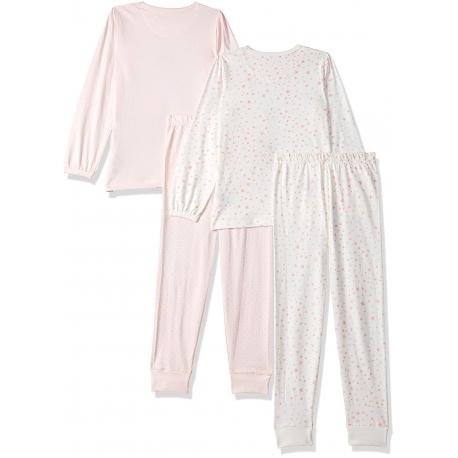 Mothercare - Set Pijama Light Pink, 2 buc