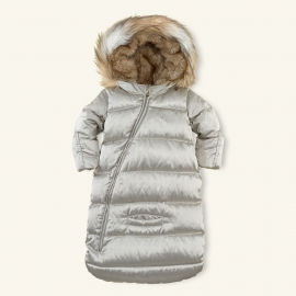 Ralph Lauren - Snowsuit Luxe Channel-Quilted Bunting