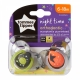 Tommee Tippee - Suzete Night Time, 6-18 luni, Planete