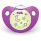 NUK - Suzeta ortodontica Night&Day, 1 buc, 0-6 luni, Mov