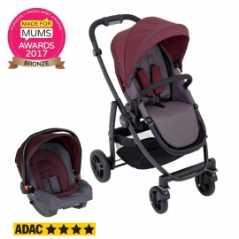 Graco - Carucior Evo 2 in 1 TS Crimson