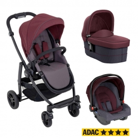Graco - Carucior Evo 3 in 1 Crimson