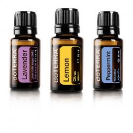 DoTERRA - Kit uleiuri esentiale pentru Alergii: Lavanda, Lamaie, Menta 15ml