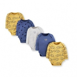 Mothercare - Set Body cu maneca lunga Boys Mummy Daddy, 5 buc