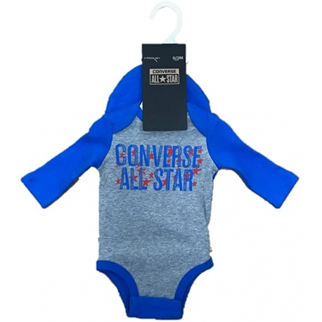 Converse - Set 2 piese All Star Infant, Body si Caciulita, Soar