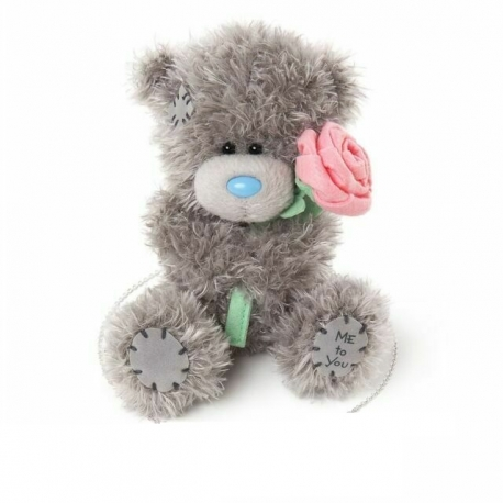"Me to You - Ursulet Tatty Teddy With Rose, Medium, 8"""