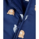 Mothercare - Combinezon Bear Snowsuit, Bleumarin