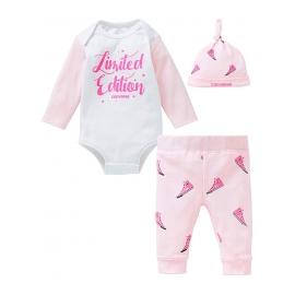 Converse - All Star Infant Set Body, Pantaloni si Caciulita, Girl Limited Edition