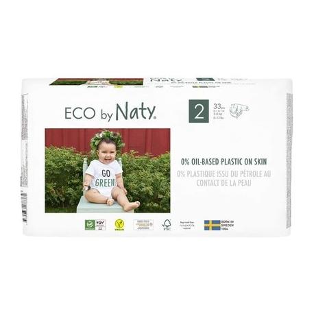 ECO by Naty - Scutece marimea 2, 33buc, 3-6kg