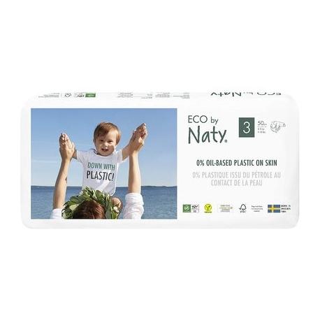 ECO by Naty - Scutece marimea 3, 50buc, 4-9kg