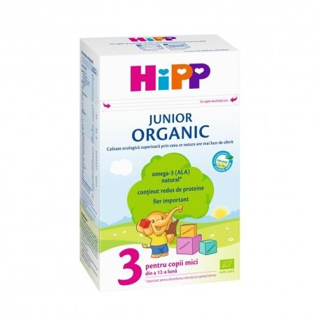 HIPP - Organic Junior 3 Lapte de crestere
