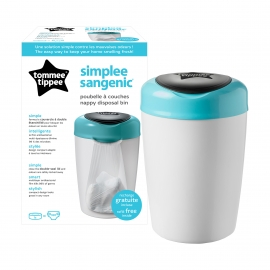 Tommee Tippee - Cos Scutece Simplee Sangenic Blue